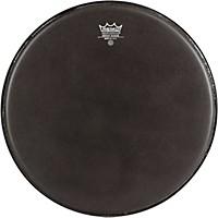Remo Emperor Ebony Suede Marching Bass Drumhead Black Suede 22