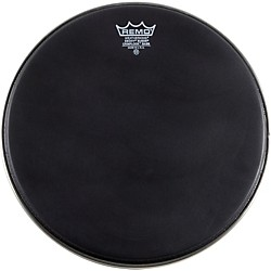 Remo Emperor Ebony Suede Crimplock Marching Bass Drumhead Black Suede 20