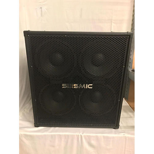 Seismic Audio 4X10 Bass Cabinet