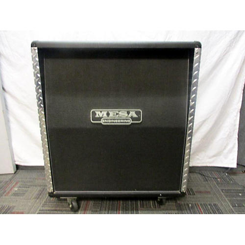 Mesa Boogie 4x12 Recto OS Slant Cabinet Diamond Plated Guitar Cabinet