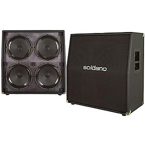 soldano 4x12 slant speaker cabinet guitar center. Black Bedroom Furniture Sets. Home Design Ideas