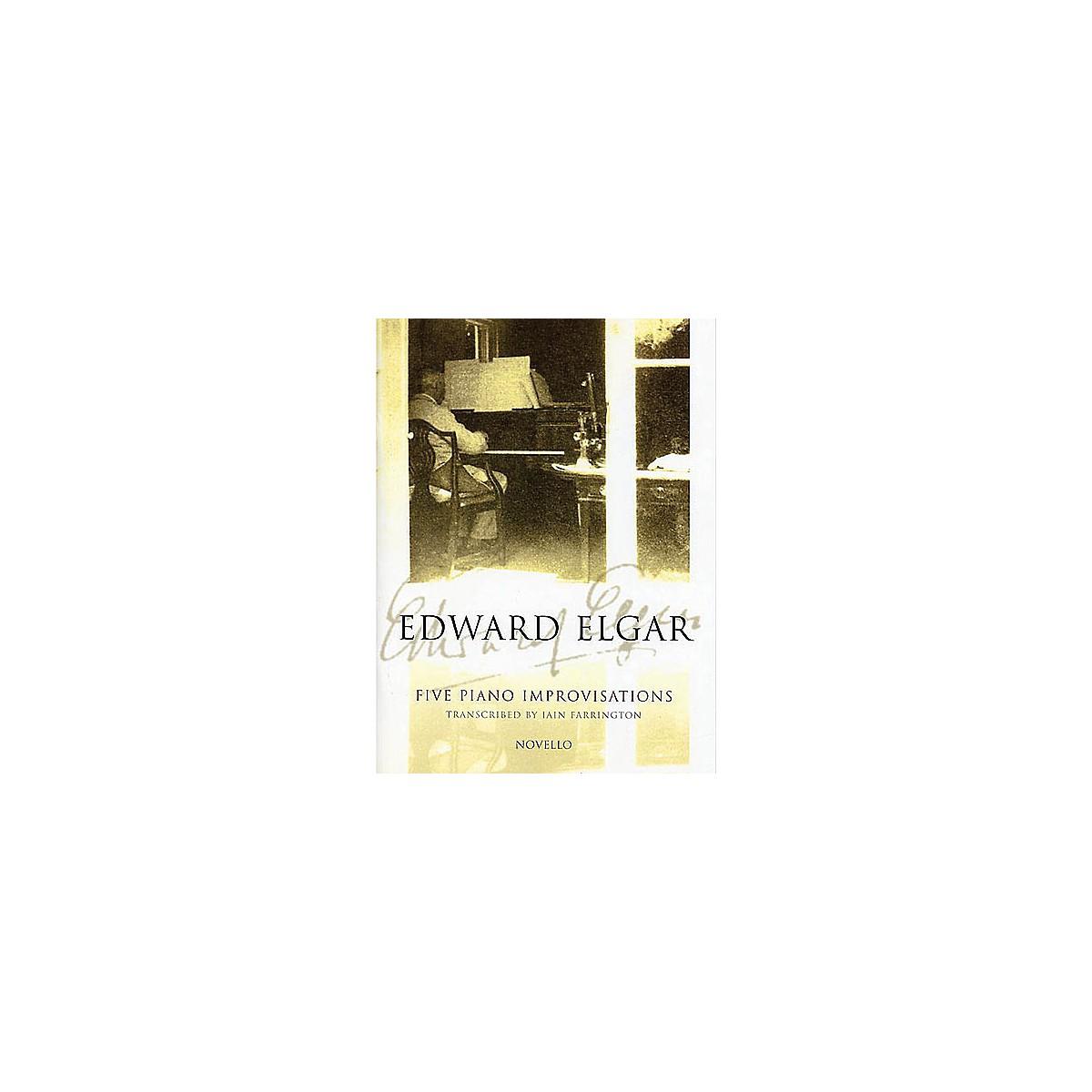 Novello 5 Piano Improvisations Music Sales America Series