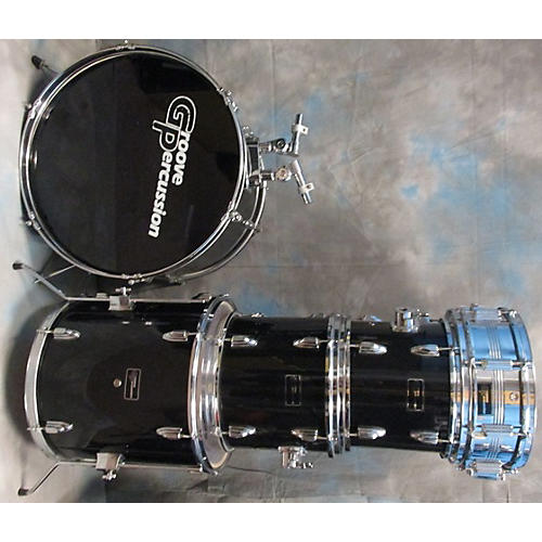 used groove percussion 5 piece 5 piece drum set with cymbal drum kit guitar center. Black Bedroom Furniture Sets. Home Design Ideas