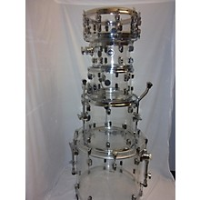 Crush Drums & Percussion 5 Piece Acrylic Drum Kit