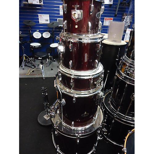 used osp 5 piece drum kit drum kit guitar center. Black Bedroom Furniture Sets. Home Design Ideas