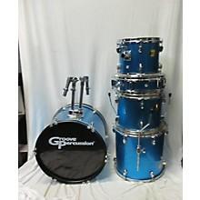 Groove Percussion 5 Piece Drum Kit Drum Kit