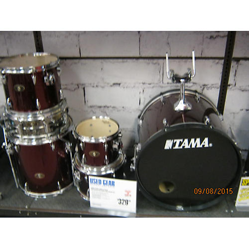 Used Tama 5 Piece Imperialstar Wine Red Drum Kit Guitar Center