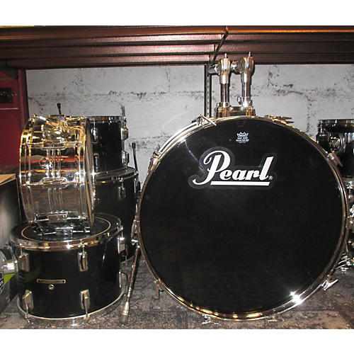 Pearl 5 Piece Wood Fiberglass Drum Kit