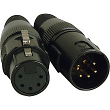 American DJ 5-Pin Male - Female XLR Connectors