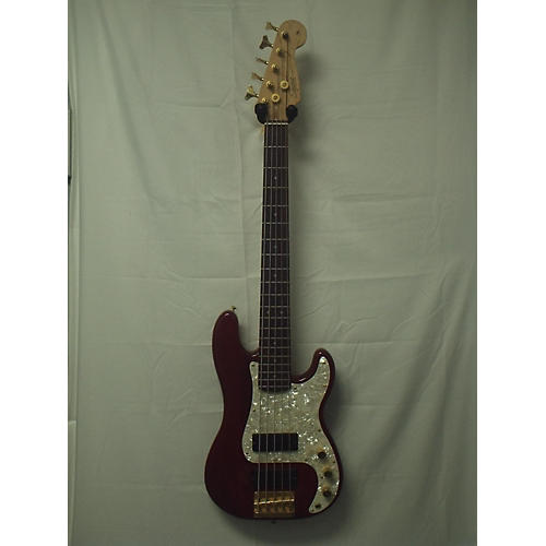 used squier 5 string precision bass pro tone series electric bass guitar guitar center. Black Bedroom Furniture Sets. Home Design Ideas