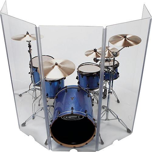 control acoustics 5 piece acrylic drum shield guitar center. Black Bedroom Furniture Sets. Home Design Ideas