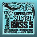 Ernie Ball 5-string Slinky Bass Strings Super Long Scale thumbnail
