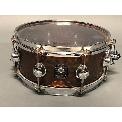 Natal Drums 5.5X12 Hand Hammered Series Snare Drum