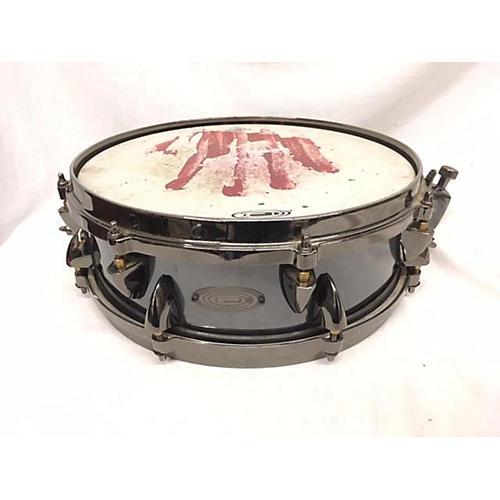 used orange county drum percussion 5 5x13 steel piccolo snare drum metallic black 9 guitar. Black Bedroom Furniture Sets. Home Design Ideas