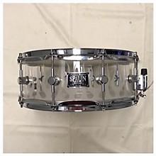 Spaun 5.5X14 Acrylic Flame Drum