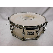 Spaun 5.5X14 Acrylic Sandblasted Flames Drum