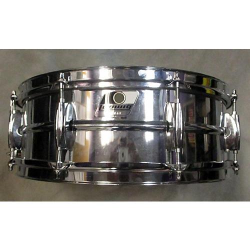 Ludwig 5.5X14 B/W BADGE ALUMINUM SNARE Drum
