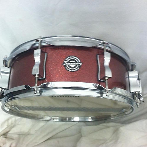 used ludwig 5 5x14 breakbeats by questlove snare drum candy apple red 10 guitar center. Black Bedroom Furniture Sets. Home Design Ideas