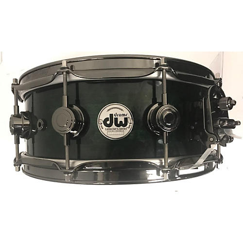 DW 5.5X14 Collector's Series Finish Ply Super Solid Maple Snare Drum
