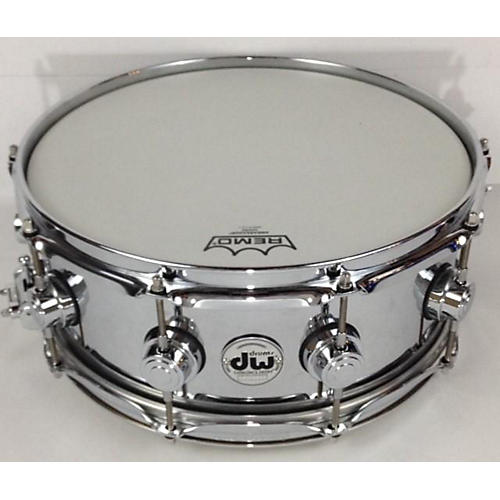 DW 5.5X14 Collector's Series Metal Snare Drum