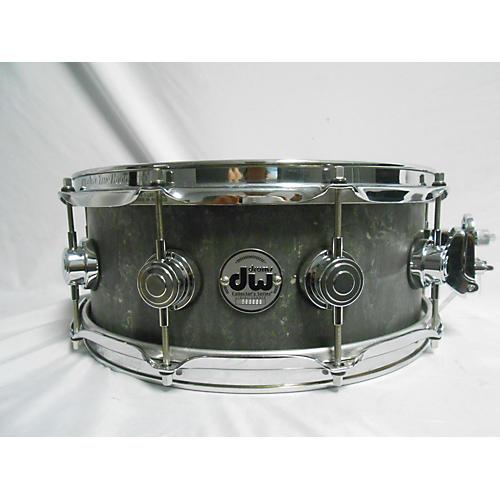 used dw 5 5x14 concrete snare drum grey 10 guitar center. Black Bedroom Furniture Sets. Home Design Ideas