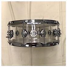 DW 5.5X14 Design Series Acrylic Snare Drum