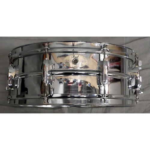 Pearl 5.5X14 MIRROR CHROME STEEL Drum
