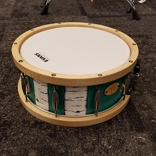 used battlefield drums 5 5x14 maple wood hoop snare drum guitar center. Black Bedroom Furniture Sets. Home Design Ideas