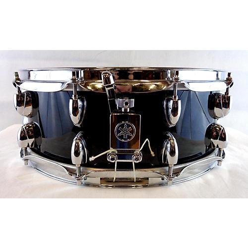 used yamaha 5 5x14 oak custom snare drum black 10 guitar center. Black Bedroom Furniture Sets. Home Design Ideas