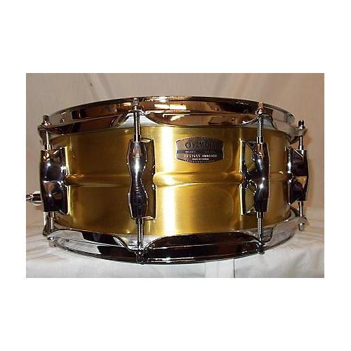 Yamaha 5.5X14 Recording Custom Brass Snare Drum