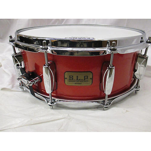 used tama 5 5x14 sound lab project snare drum red sparkle 10 guitar center. Black Bedroom Furniture Sets. Home Design Ideas