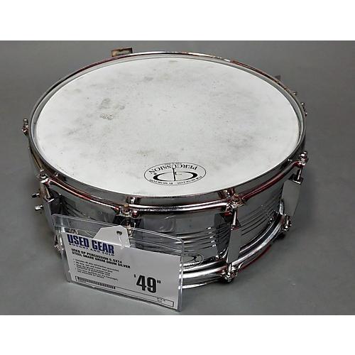 GP Percussion 5.5X14 Steel Snare Drum Drum
