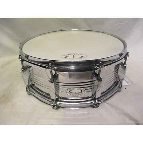GP Percussion 5.5X14 Steel Snare Drum