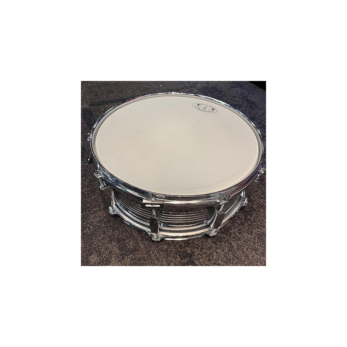 GP Percussion 5.5X14 Steel Snare Drum