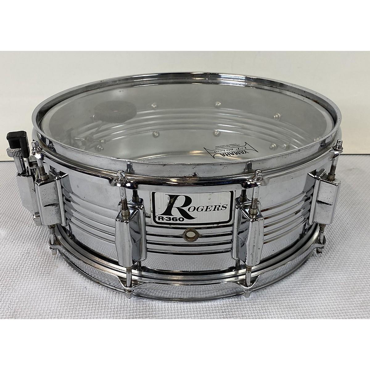 Rogers 5.5X14 Steel Snare Drum