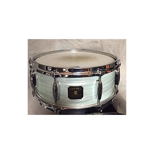 Gretsch Drums 5.5X14 USA Custom Snare With Two Badges/four Vent Holes Drum