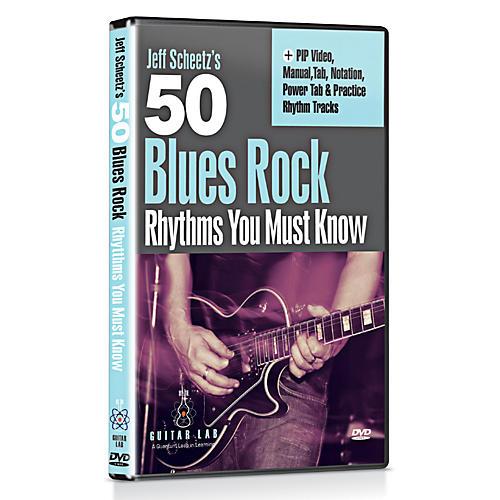Emedia 50 Blues Rock Rhythms You Must Know DVD