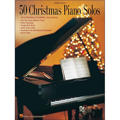 Hal Leonard 50 Christmas Piano Solos