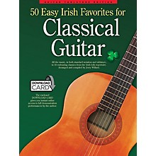 Wise Publications 50 Easy Irish Favorites for Classical Guitar Guitar Series Softcover Audio Online