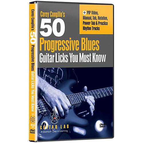 Emedia 50 Progressive Blues Licks You Must Know DVD