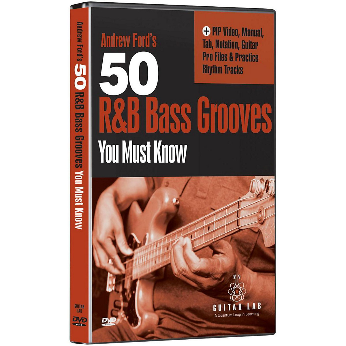 eMedia 50 R&B Bass Grooves You Must Know DVD
