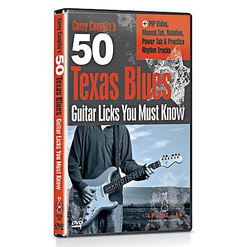 Emedia 50 Texas Blues Licks You Must Know DVD