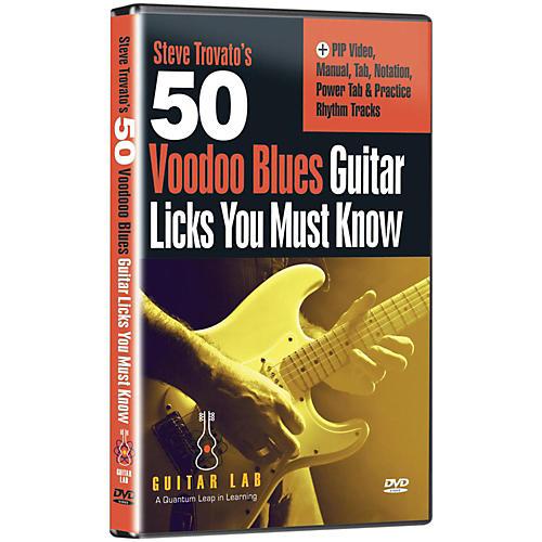 eMedia 50 Voodoo Blues Licks You Must Know DVD