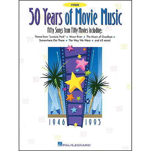 Hal Leonard 50 Years Movie Music for Violin