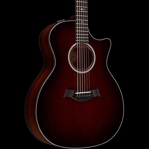 Taylor 500 Series 524ce-SEB Grand Auditorium Acoustic-Electric Guitar 2017