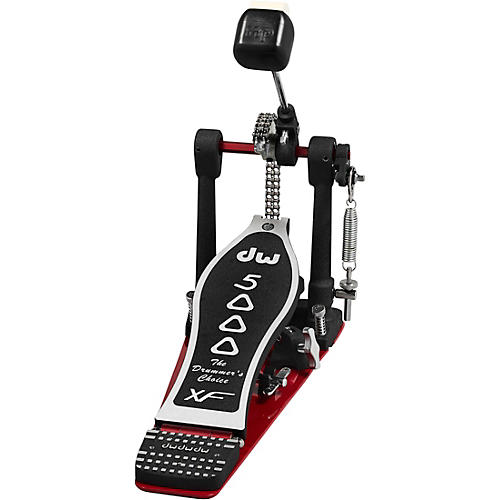DW 5000 Series Accelerator Single Bass Drum Pedal with Extended XF Footboard
