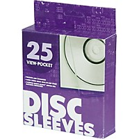 Univenture Xg Safety Sleeves For Cd/Dvd 25-Pack
