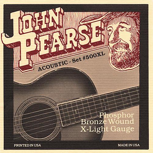 John Pearse 500XL Bronze Acoustic Guitar Strings