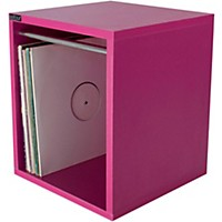 Sefour Vinyl Record Carry Box Electro Magenta