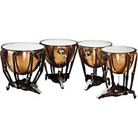 Ludwig Lks404pg Stand Polished Copper Timp  ...